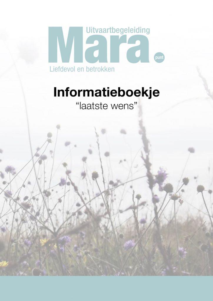 Uitvaart-boekje_Mara_2018-1